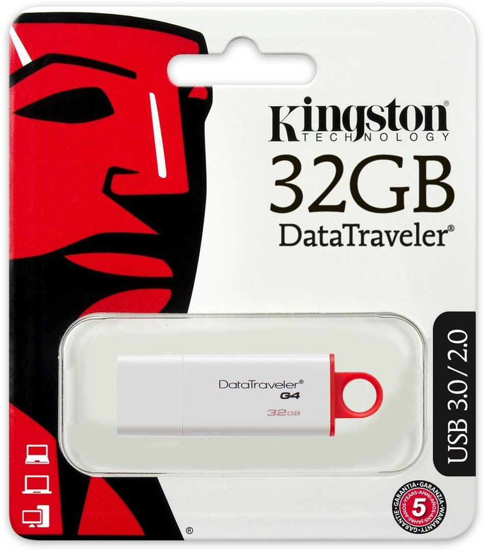 Накопичувач USB 3.0 KINGSTON DTI Gen.4 32GB (DTIG4/32GB) фото3