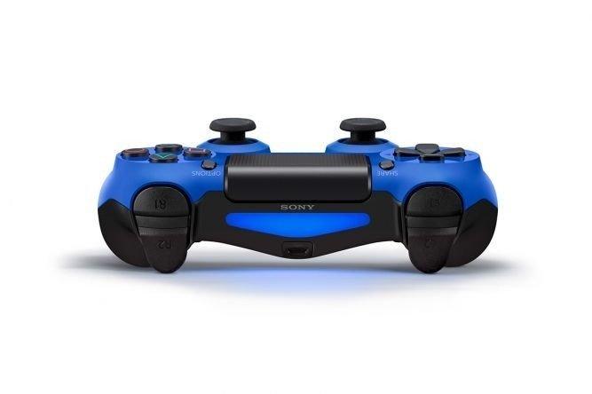 Джойстик SONY Dualshock для PS4 Blue (105789) фото 3