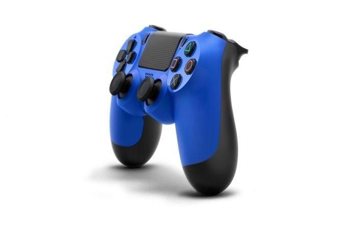 Джойстик SONY Dualshock для PS4 Blue (105789) фото 5