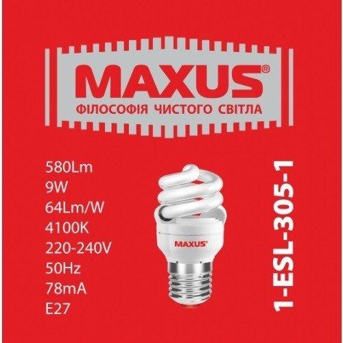 Энергосберегающая лампа Maxus 1-ESL-305-1 (1-ESL-305-1) фото