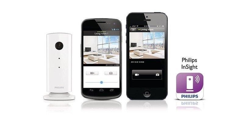 Видеоняня Philips InSight Wireless Home monitor фото 6