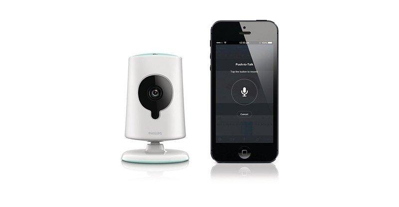 Видеоняня Philips InSight Wireless HD baby monitor фото 6