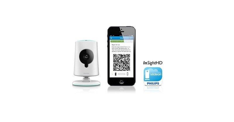 Видеоняня Philips InSight Wireless HD baby monitor фото 7