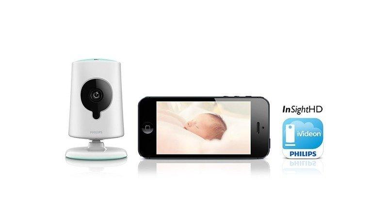 Видеоняня Philips InSight Wireless HD baby monitor фото 8