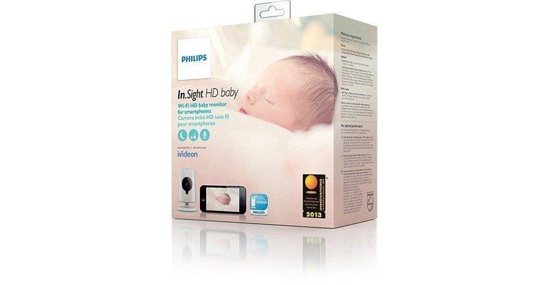 Видеоняня Philips InSight Wireless HD baby monitor фото 10