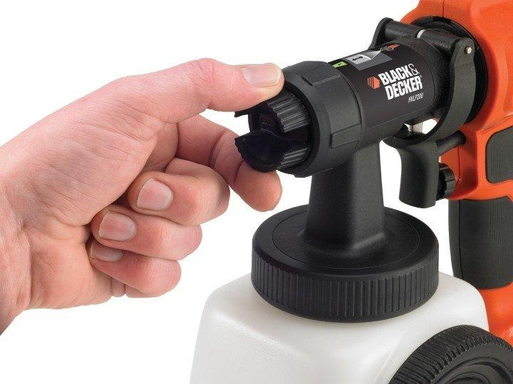 <p>Краскопульт електричний Black & Decker HVLP200 (HVLP200)</p>фото