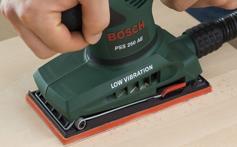 Виброшлифмашина Bosch PSS 250 AE фото