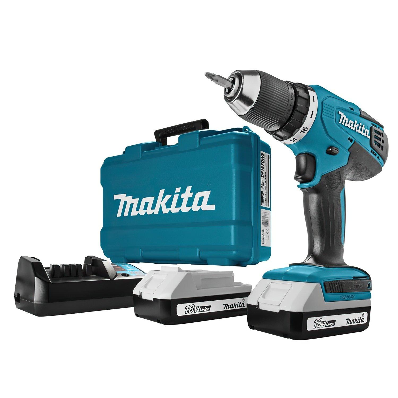 Аккумуляторный шуруповерт Makita DF457DWE фото