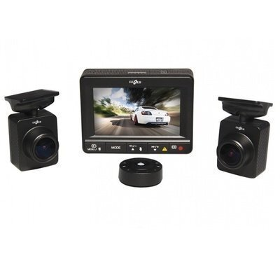 Двухканальный видеорегистратор Gazer F225: полная видеозащита