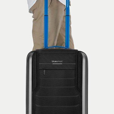 Bluesmart: умный чемодан под стать Джеймсу Бонду