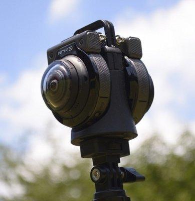 Casio EX-FR200 - сборная камера 360