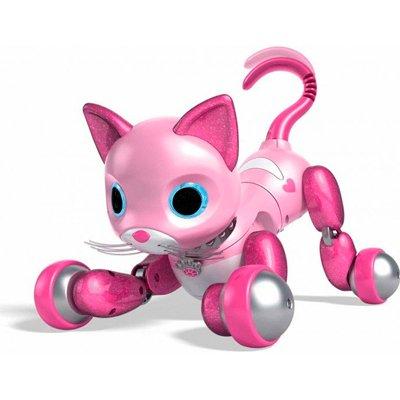 Обзор: очаровательная кошечка Zoomer Kitty – робот, который умеет мурчать!