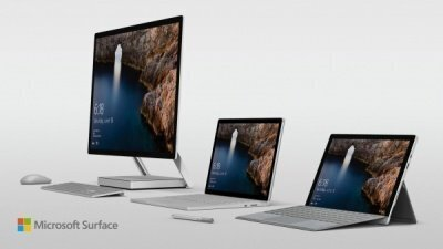 Корпорация Microsoft представила компьютер-моноблок Microsoft Surface Studio