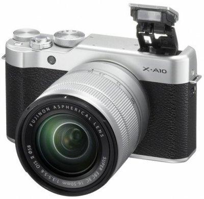 Fujifilm X-A10 – новая системная камера начального уровня от компании Fujifilm