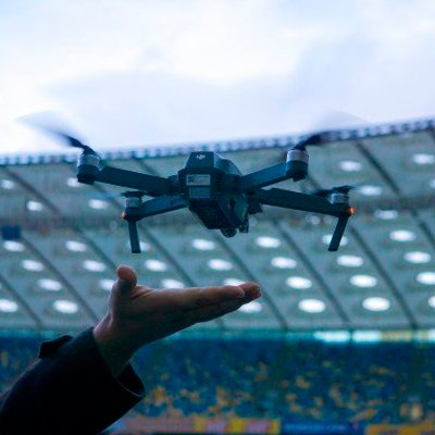 Репортаж з 10-річчя DJI і презентації в Україні квадрокоптера DJI Mavic Pro