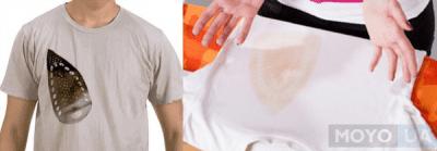 8 способов как удалить следы утюга на ткани