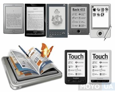 Как выбрать электронную книгу - 8 советов по выбору ридера