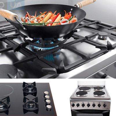 Выбираем кухонную плиту - газовая или электрическая плита для вашей кухни: 5 основных критериев