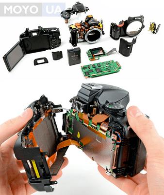 Основные неисправности зеркальных фотоаппаратов. Диагностика 5 типичных поломок