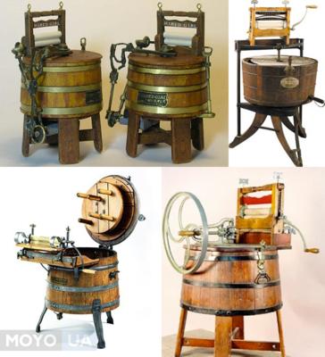 Історія винаходу пральної машини: 5 унікальних фактів