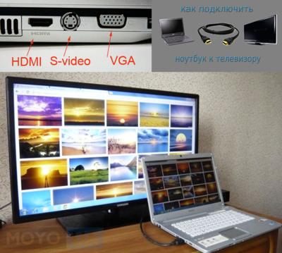 Как подключить ноутбук к телевизору? 3 эффективных и проверенных способа