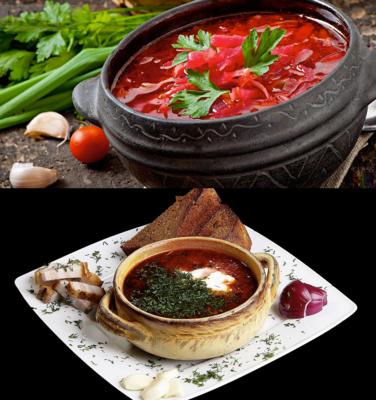 Украинский борщ в духовке - 3 вкусных рецепта