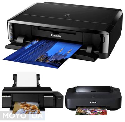 ТОП-8 самых популярных струйных принтеров