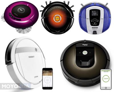 ТОП-5 лучших фирм-производителей роботов-пылесосов