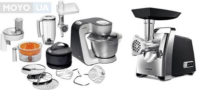 Що з 2 пристосувань краще: м'ясорубка або кухонний комбайн?