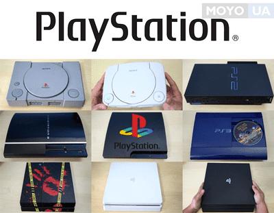 Развитие и модельный ряд Sony PlayStation: с 1994 года и до сегодня