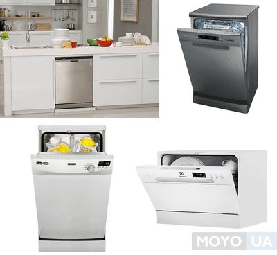 ТОП-10 лучших отдельностоящих посудомоечных машин