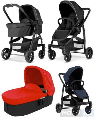 ТОП-10 универсальных детских колясок «2 в 1»