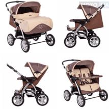 ТОП-5 лучших колясок для двойни: Рейтинг детских колясок для двойняшек