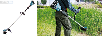 Косить — легко: 13 преимуществ аккумуляторной косы Makita DUR364