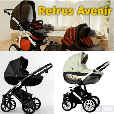 ТОП-5 популярных детских колясок Retrus