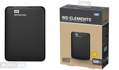 ТОП-10 кращих зовнішніх HDD об'ємом 500 GB