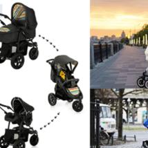 ТОП-7 детских колясок 3 в 1