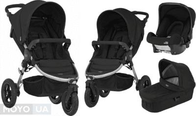 ТОП-5 детских трёхколесных колясок