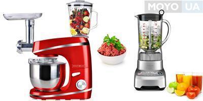 Что выбрать – кухонный комбайн или блендер: 3 основных отличия приборов