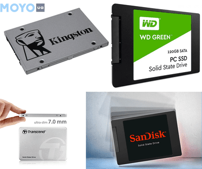 ТОП-10 лучших SSD на 120-128 Гб