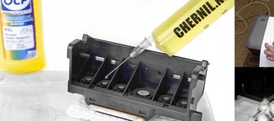 Как очистить печатающую головку принтера: 2 основные технологии