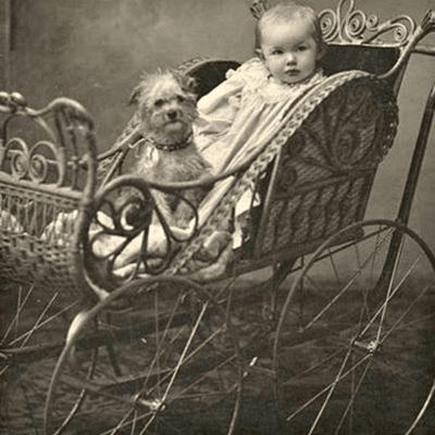 Когда появилась первая детская коляска: 10 фактов из истории
