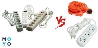 В чем разница между сетевым фильтром и удлинителем – сравниваем устройства по 4 критериям