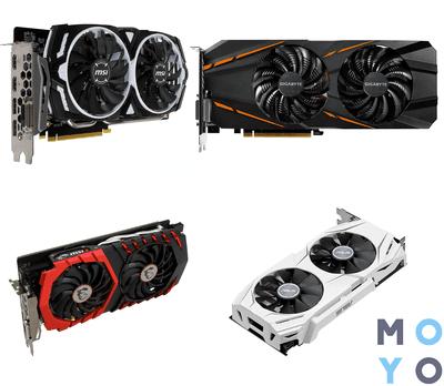 3 лучших производителя видеокарт NVidia GeForce GTX 1060 + 5 крутых моделей