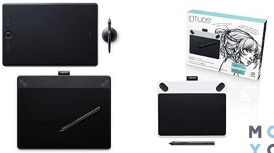 3 категории графических планшетов Wacom: выбор, подключение, использование