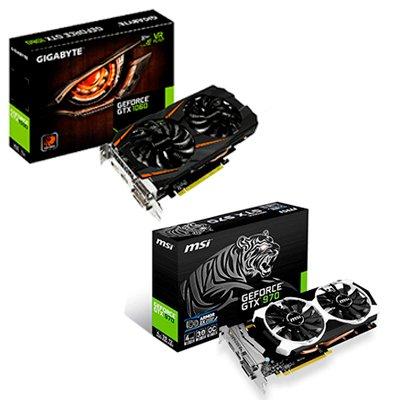 Що краще для ігор: порівняння NVidia GeForce GTX 970 або GTX 1060?