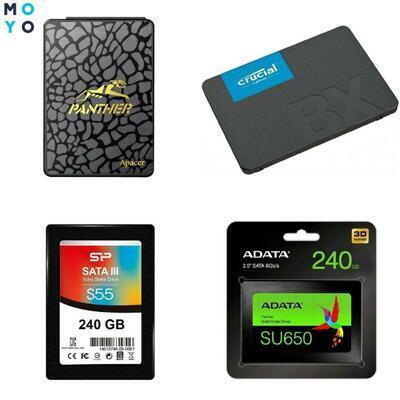ТОП-10 лучших SSD-накопителей объемом 240-256 Гб
