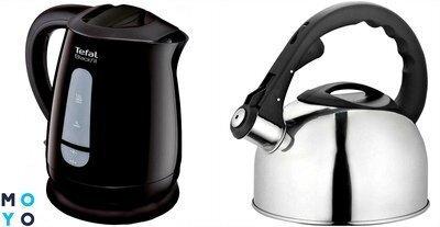 Какой чайник лучше: электрический или обычный – сравнение 2 приборов для кухни