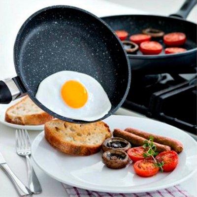 Сковородки с каменным покрытием – какие лучше: выбор по 4 параметрам