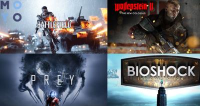 Рейтинг 10 найбільш популярних ігор-стрілялок на PS4 і інші платформи